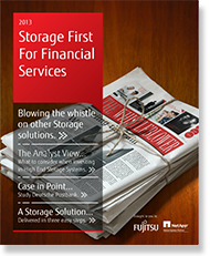 Storage First for Financial Sevices