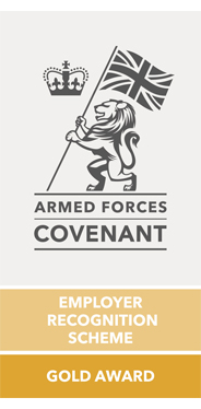 Defence Employer Recognition Scheme - Gold Award