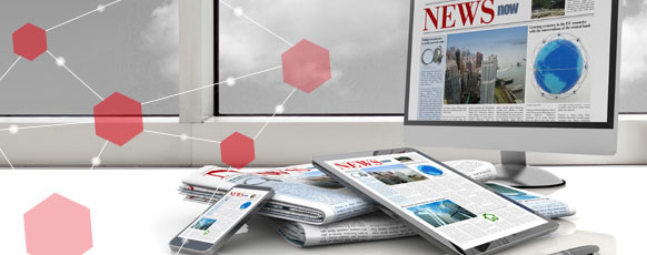 News/Press Information header visual