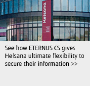 See how ETERNUS CS gives Helsana ultimate flexibility to secure their information.