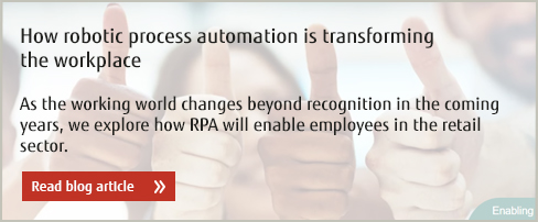 How robotic process automation is transforming the workplace - Read blog article.