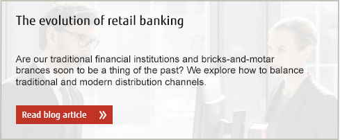The evolution of retail banking: Are our traditional financial institutions and bricks-and-motar brances soon to be a thing of the past? We explore how to balance traditional and modern distribution channels. View blog article.