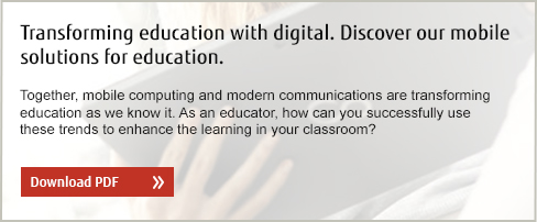 Transforming education with digital. Discover our mobile solutions for education. Download PDF