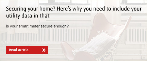 Securing your home? Here's why you need to include your utility data in that - read article