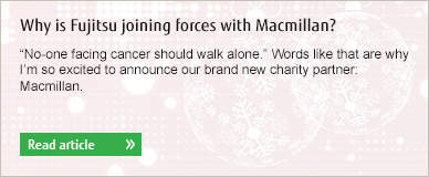 Why is Fujitsu joining forces with Macmillan?