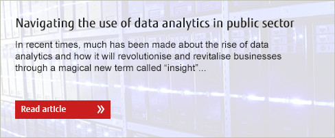 Navigating the use of data analytics in public sector. Read article