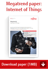 Megatrend paper: Internet of Things - Download paper (1MB)