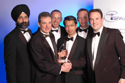 Fujitsu Telecommunications Europe win the Best Hardware category for the 2005 ISPA Awards