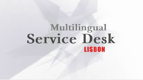 Watch the Lisbon Service Desk video