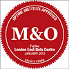 M&O stamp of approval award