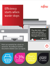 Efficiency starts when waste stops (infographic)