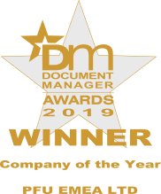 Document Manager magazine Company of the Year 2019