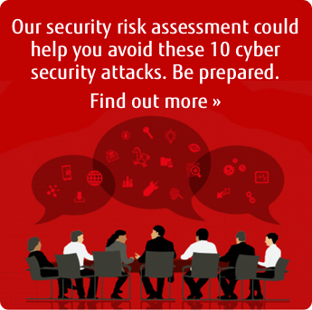 Our security risk assessment could help you to avoid security attacks