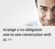 Arrange a no-obligation one-to-one conversation with us