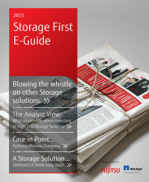 2013 Storage First E-Guide