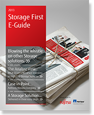 Storage First E-guide