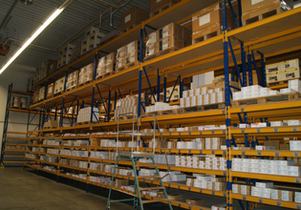 FEEU Supply Chain shelving