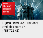 Fujitsu PRIMERGY - The only credible choice (PDF 722 KB)