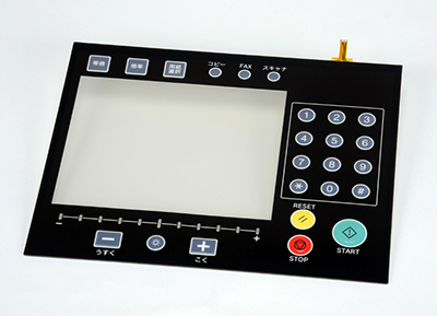 Fujitsu Components' new Touch Panels with Integrated Embossed Switches