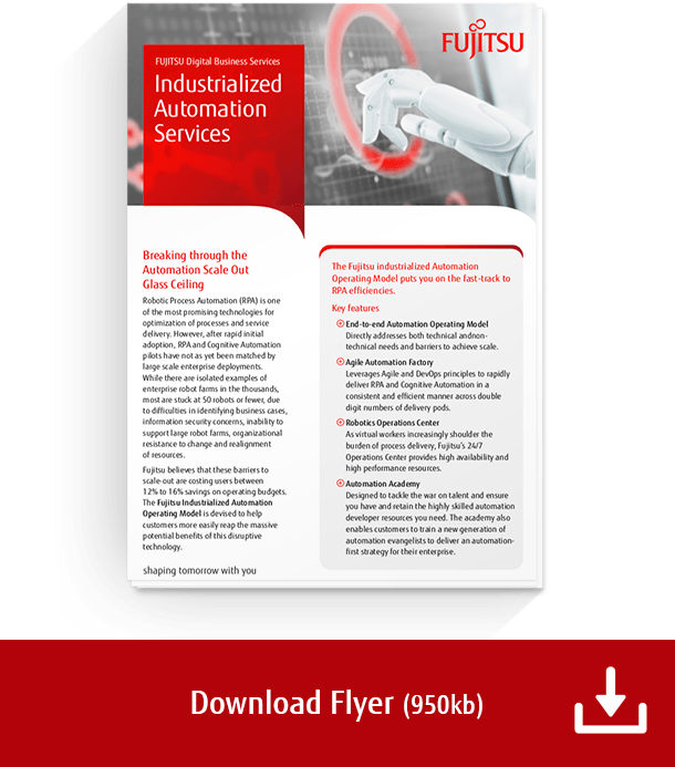 Download the Industrialized Automation Services flyer