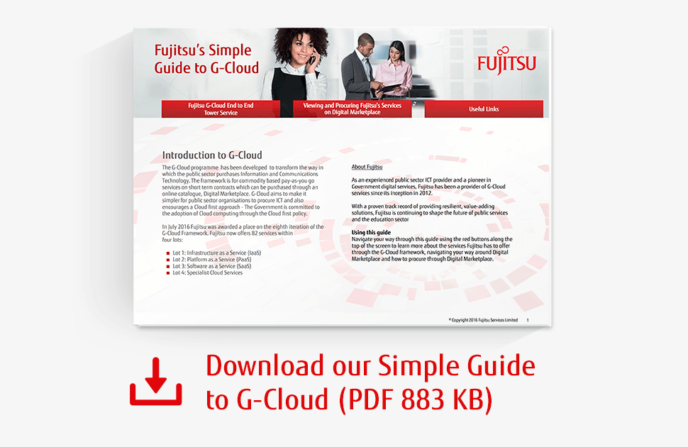 Download our Simple Guide to G-Cloud PDF