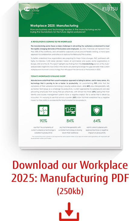 Workplace 2025: Manufacturing report download