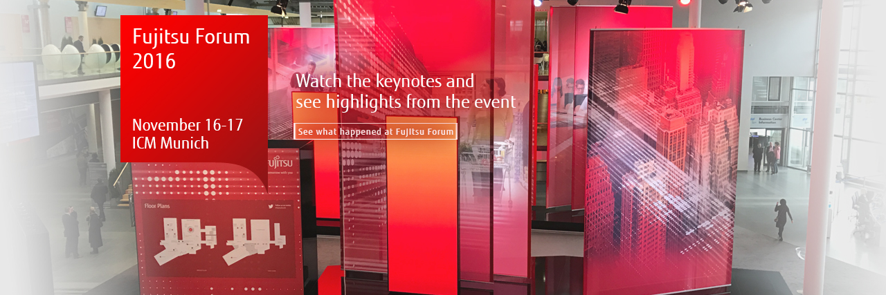 Fujitsu Forum 2016: Take a look at our event highlights