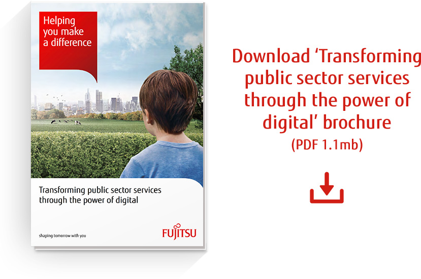 Download 'Transforming public sector services through the power of digital' PDF