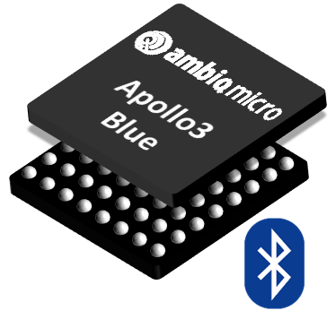 Apollo3 Blue Ultralow-power MCU