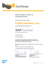 SAP Global Hosting Certification