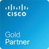 Cisco gold partner logo