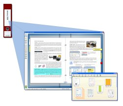 explain searchable pdf rack to filer