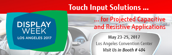 Fujitsu  - Touch Panel Solutions -  Society for Information Display 2017