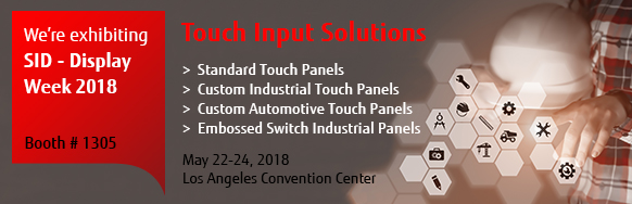 Fujitsu  - Touch Panel Solutions -  Society for Information Display 2018