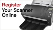 Register your Scanner