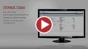 ETERNUS CS800 Screen Demo 2016