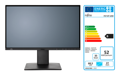 Display P27-8 TS UHD with EEC label B